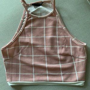 Pink Top & Skirt set